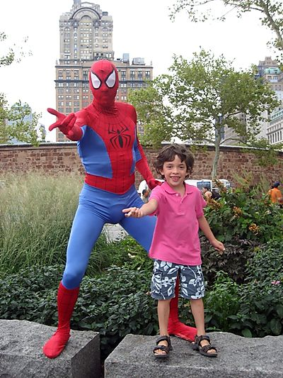 C with Spiderman