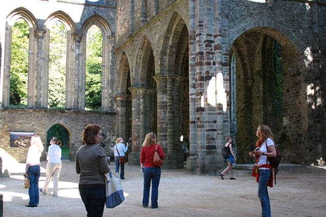 Exploring the Abbey