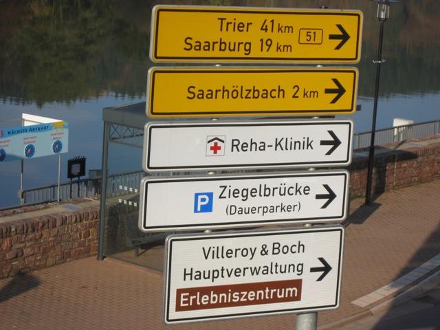 Villeroy & Boch Traffic Sign