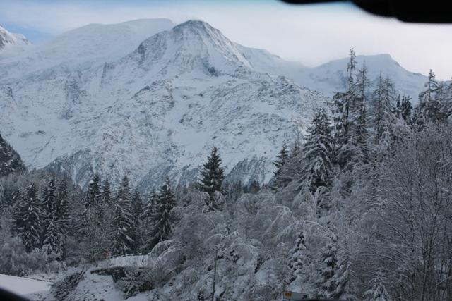 Arriving into Chamonix