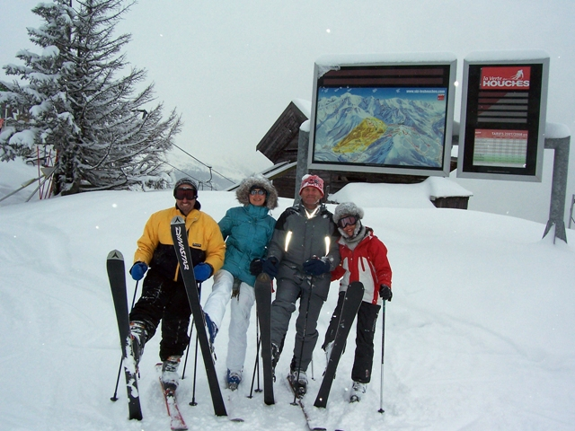 Group shot at Les Houches