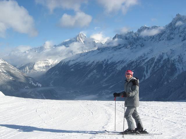 R skiing