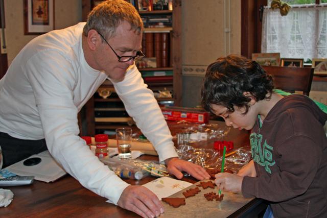 Making Cinnamon Ornaments