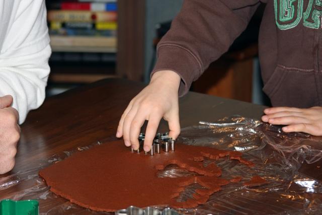 Forming Cookies