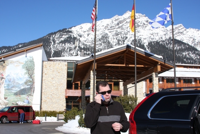 Leaving Garmisch