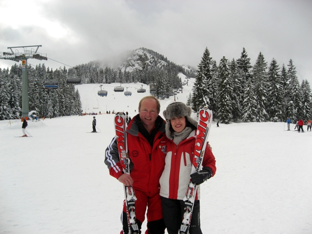 With Dave, Ski Instructor