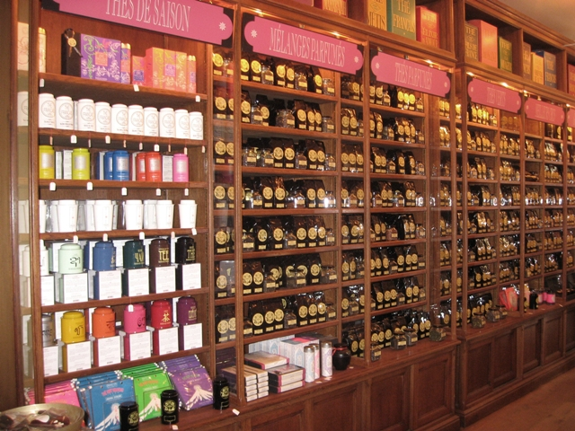 Collection of tea