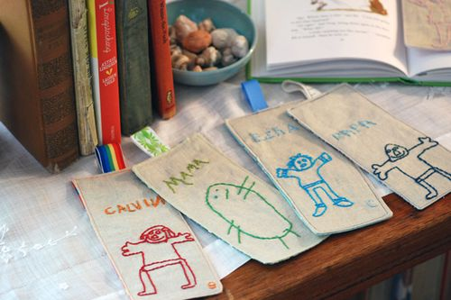Embroidered Bookmarker