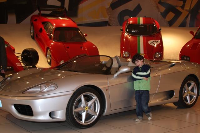 C & his car