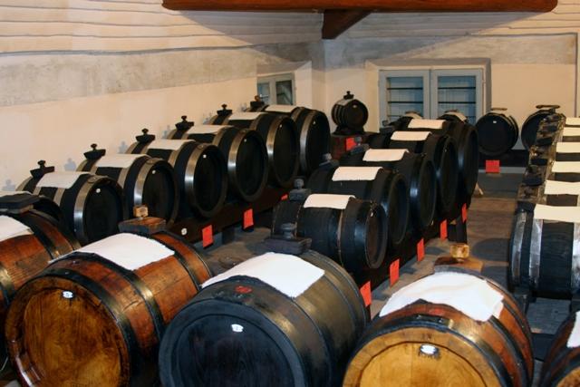 Barrels of balsamico
