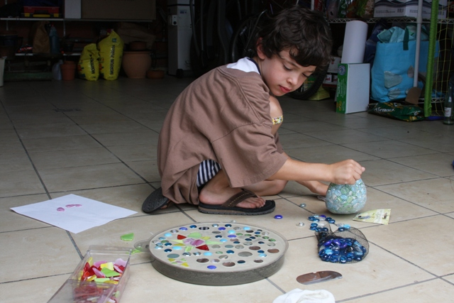 Making a stepping stone