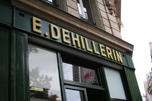E. Dehillerin sign
