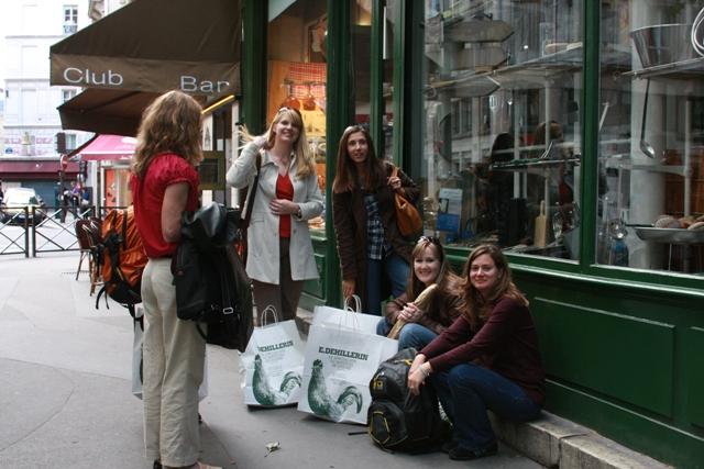 Girls waiting outside E.D