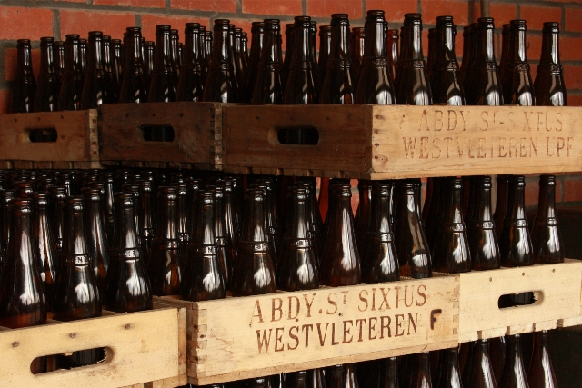 Cases of Trappist Westvleteren Beer