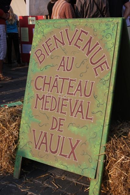 Medieval Fest Sign
