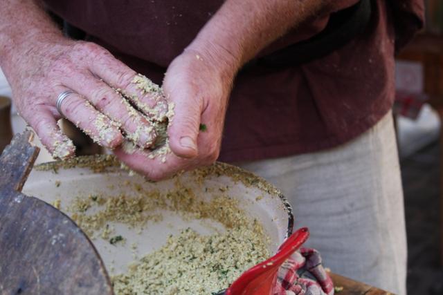 Rolling the Falafel
