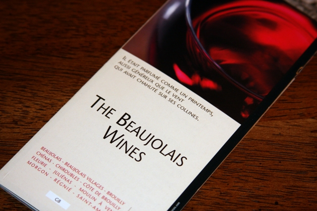 Beaujolais Wine