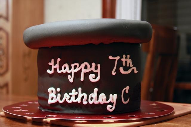 Magician Hat Cake