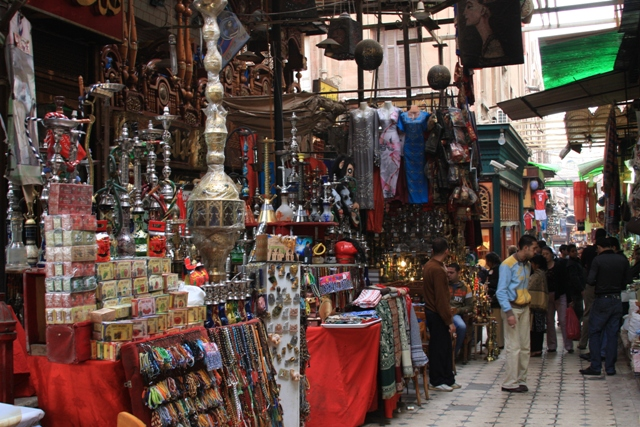 Shishas at the Khan el Khalili Market