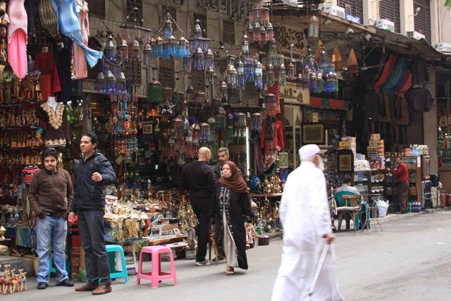 Vendors Khan el Khalili