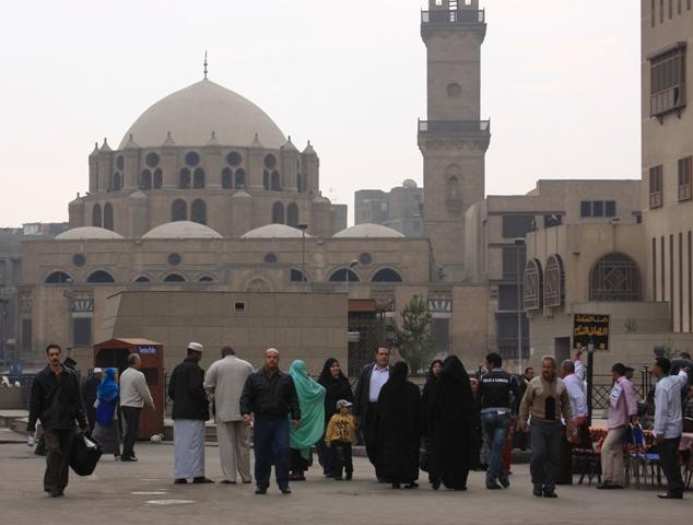 Street life in Egypt