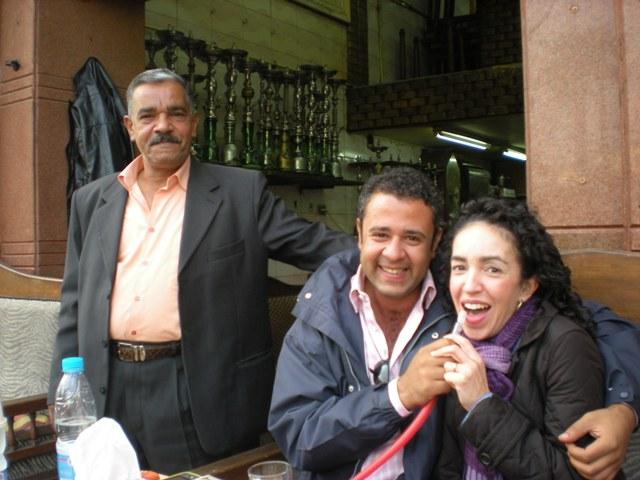Me & Ibrahim at cafe