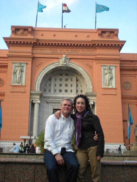 R & I at the Egyptian Museum