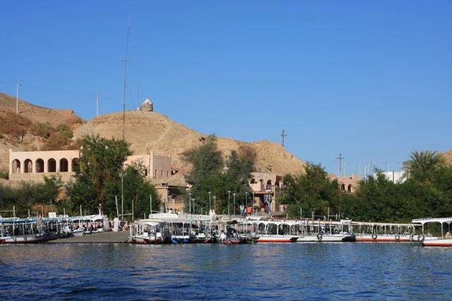 Boat Area in Aswan