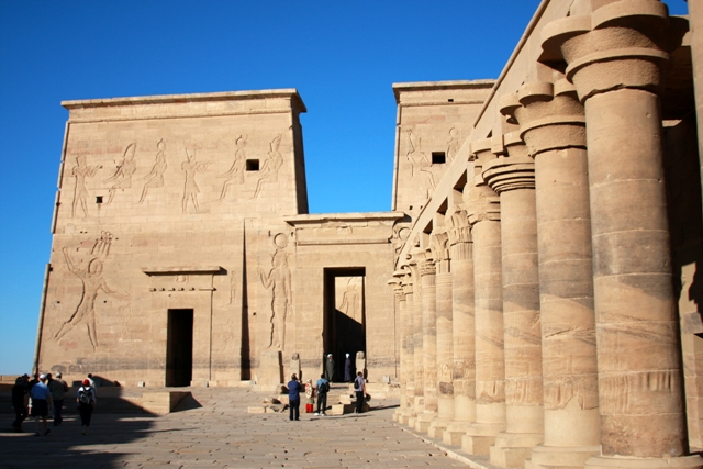 Entrance to Philae