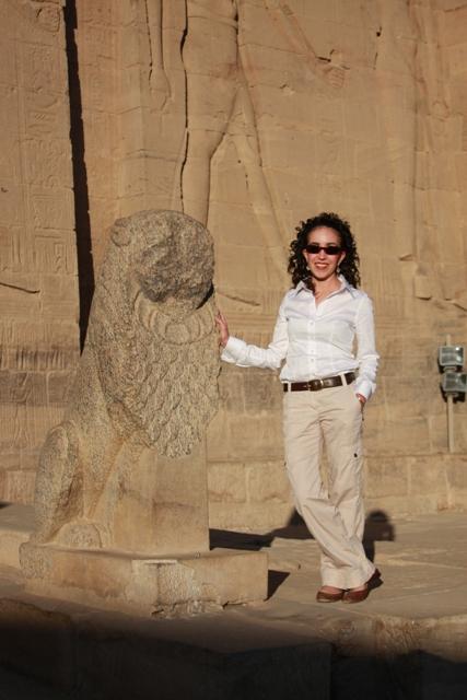 Me at Philae Temple