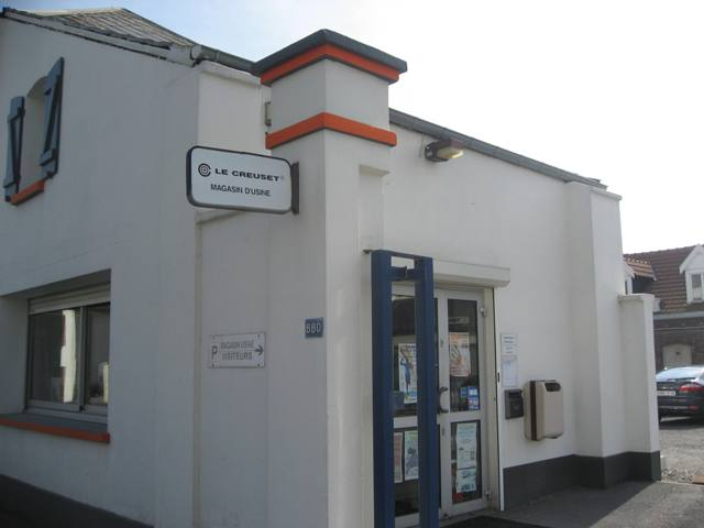 Le Creuset Shop in France