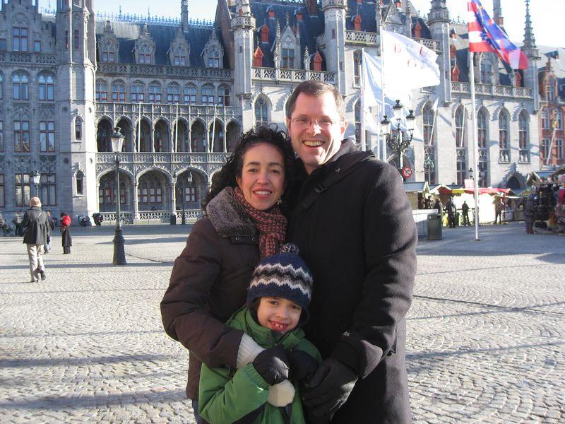 Familia in Brugge