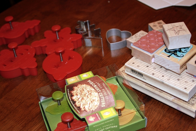 Cookie cutters & Stamps