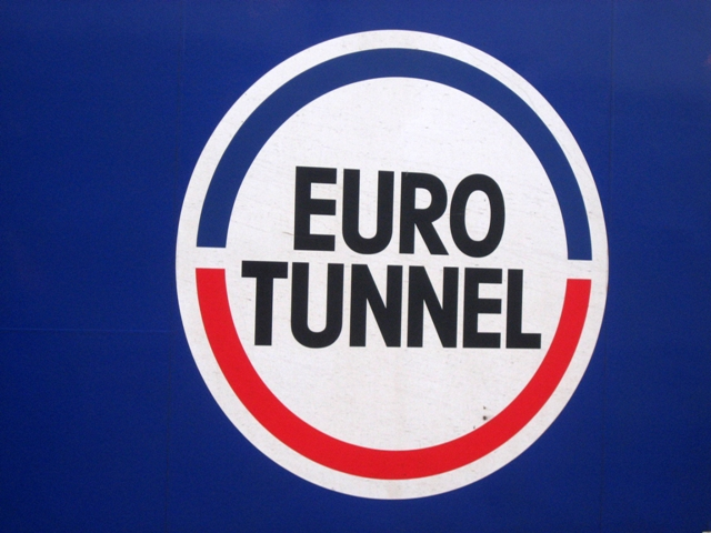 Euro Tunnel Sign
