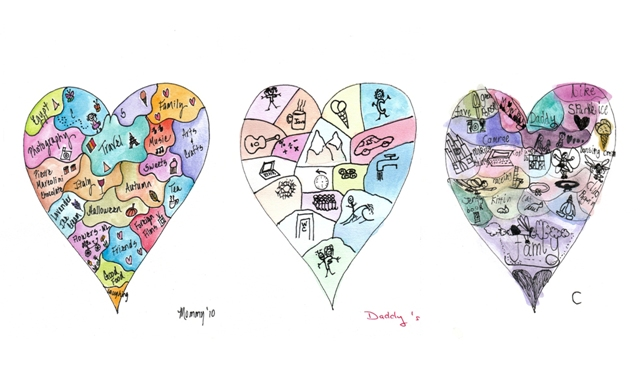 Our Family Heart Maps II