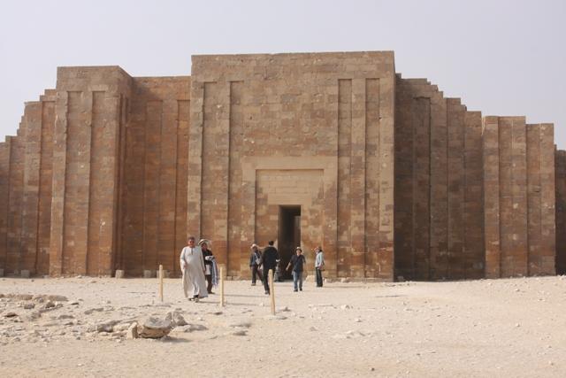 Entrance to Saqqara