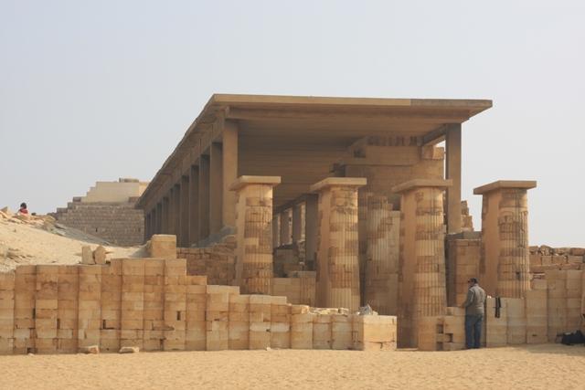 Columns at Saqqara