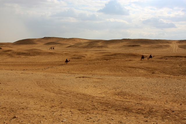 The Desert at Giza