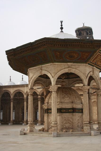 Courtyard Mosque Mohammed Ali
