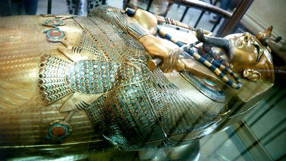 Tutankhamun's 3rd coffin