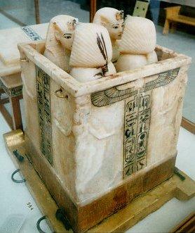 Tutankhamu Canopic Jars