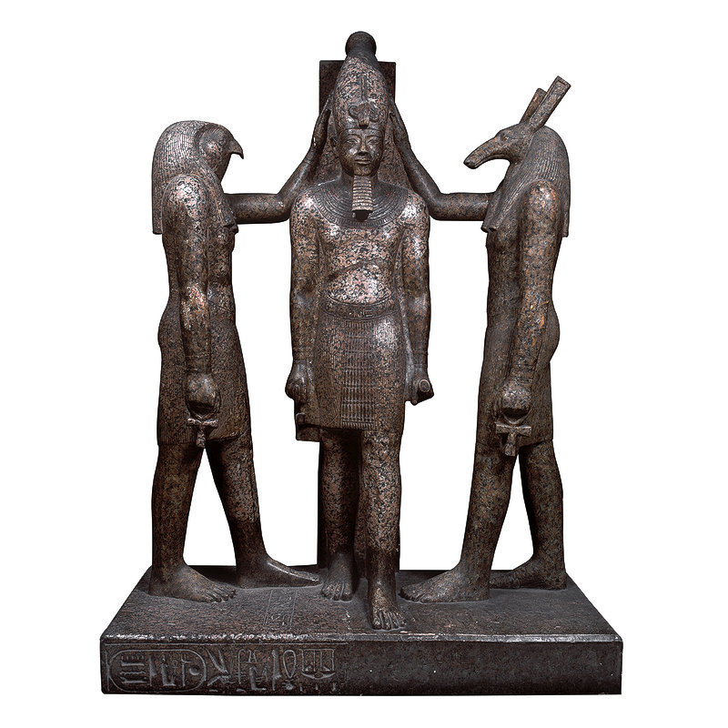 Group Statue of Ramesses III
