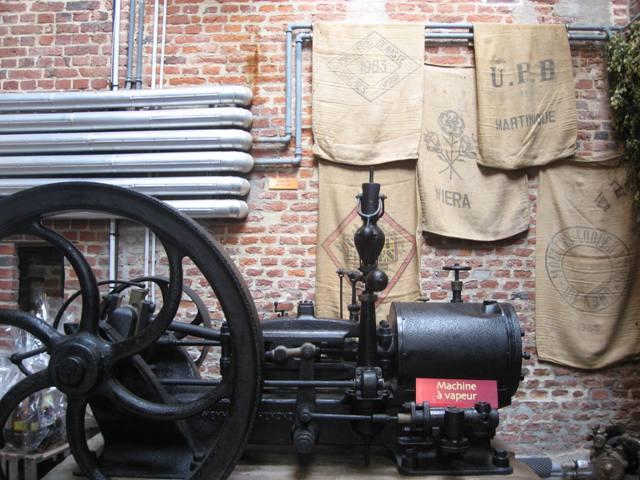 Inside La Brasserie de l'Abbaye du Cateau