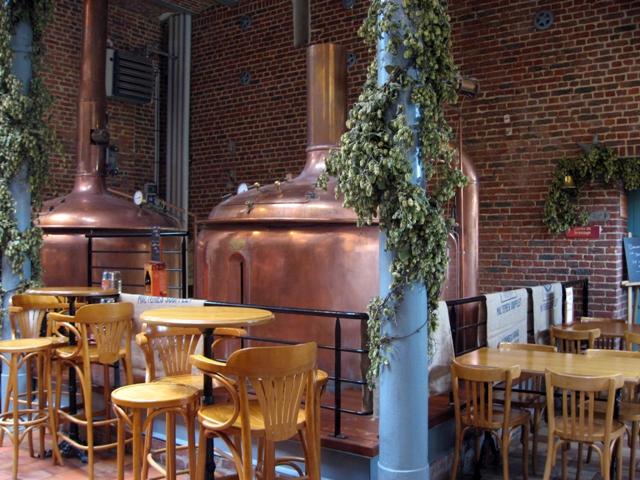L'Abbaye Beer tanks