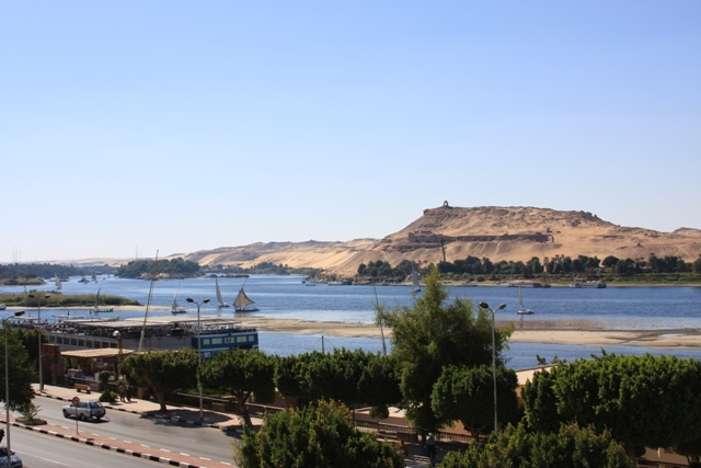Aswan lunch view I