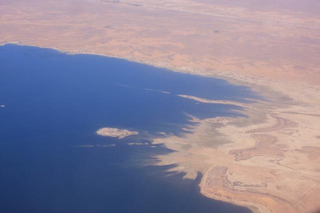 Flying to Abu Simbel