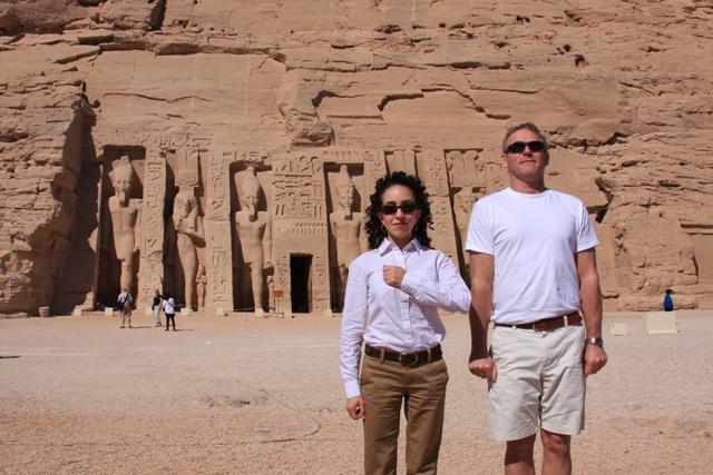 Modern Day Ramses & Nefertari