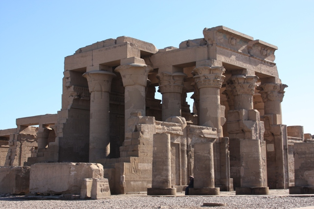 A different view of Kom Ombo