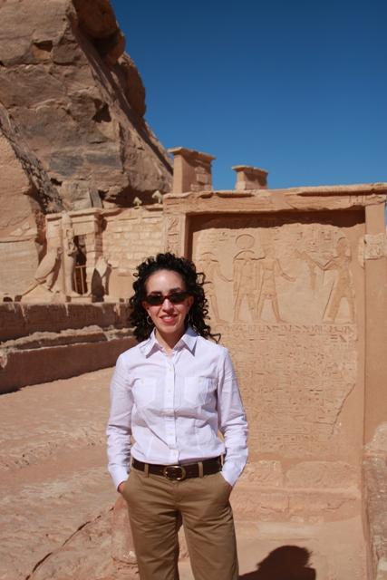 Me at Abu Simbel