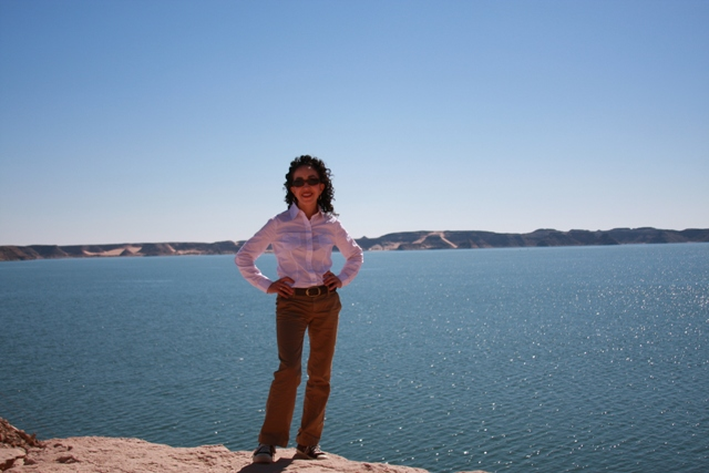 Me at Lake Nasser